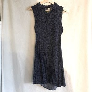 H&M Divided Collared Dress, peek-a-boo back